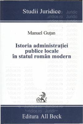Istoria administratiei publice locale in statul roman modern