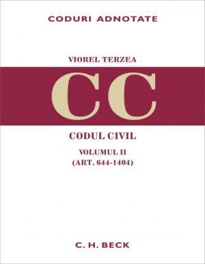 Codul civil. Volumul II (art. 644-1404)
