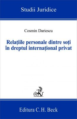 Relatiile personale dintre soti in dreptul international privat