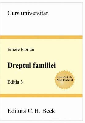 Dreptul familiei. Editia 3