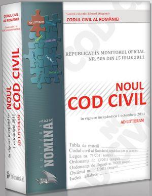 Pachet PROMO: 20 buc. X Noul Cod Civil Republicat (Ad litteram - editie cartonata, 2011)