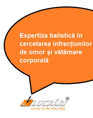 Expertiza balistica