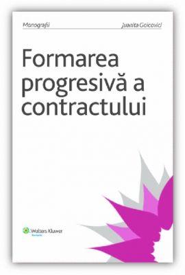 Formarea progresiva a contractului
