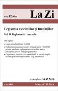 Legislatia asociatiilor si fundatiilor. Volumul II. Reglementari contabile (actualizat la 10.07.2010)