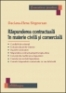 Răspunderea contractuală în materie civilă şi comercială