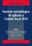 Normele metodologice de aplicare a Codului fiscal 2010