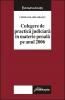 Curtea de Apel Braşov. Culegere de practică judiciară în materie penală pe anul 2006