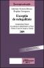 Excepţia de nelegalitate. Jurisprudenţa Secţiei de contencios administrativ şi fiscal a ICCJ pe anul 2009