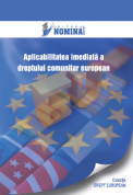 Aplicabilitatea imediata a dreptului comunitar european