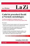 Codul de procedura fiscala si Normele metodologice (actualizat la 10.01.2011)