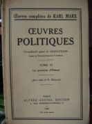 Oeuvres Politiques, Tome III-Le question d`Orient