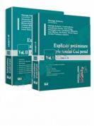Pachet: Vol. I si Vol. II - Explicatii preliminare ale noului Cod penal